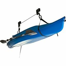 Heavy Duty Garage Utility Canoe, Kayak Bicycle Ceiling Lift Hoist Pulley Storage