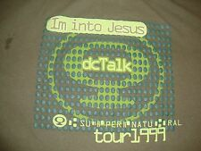 Vintage 90's DC TALK 1999 Hey You supernatural Jesus Concert Tour T Shirt XL