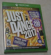 Just Dance 2017 Gold Edition - Xbox One - Brand New & Factory Sealed !!