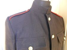 "BRITISH  ARMY RLC REME RMP No1 blues SD Jacket tunic tunic RED PIPING 34""chest"