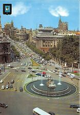 BR12790 car voiture The Cibeles and Alcala Street Madrid spain
