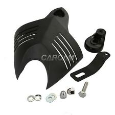 Black Billet Aluminum V-shield Horn Cover For Harley Davidson Street Glide FLHX