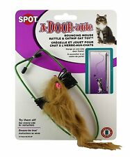 Spot A-DOOR-able Bouncing Fur Mouse Catnip Toy