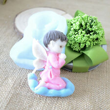 Angel Silicone Mold For Fondant Cake Chocolate Decorating Candy Pastry DIY Mould