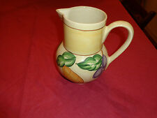 AMERICAN ATELIER Porcelain Fruit Pitcher Pears & Grapes Portugal - NICE!