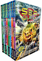 Sea Quest Series 3 and 4 Collection Adam Blade 8 Books Set Chakrol Ocean Hammer