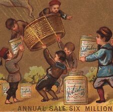 Antique 1882 LIEBIG S 0075 Balloon English Language American Trade Card