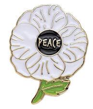 PEACE POPPY PIN BADGE