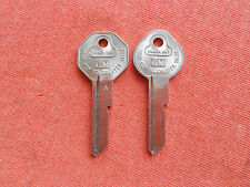 2 CHEVY BUICK PONTIAC OLDSMOBILE NOS KEY BLANKS 1967