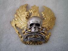 Pre-WW1 German Pickelhaube- Prussia/Brunswick I.R. 92 helmet Badge