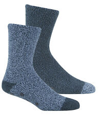 Pierre Roche Mens 2 Pairs of Non-Slip Gripper Lounge Socks 6-11