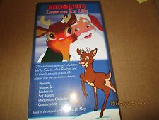 RUDOLPH'S LESSONS FOR LIFE $1.99 VHS ANIMATION NEAR MINT! 40 MINUTES