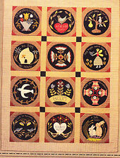 Garden Whimsy - gorgeous applique & pieced quilt PATTERN - Timeless Traditions
