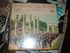 """BANDA DELL'ARMA DEI CARABINIERI DI ROMA """" INNO DI MAMELI + 3 """" E.P.  ITALY'57"""