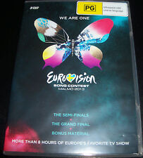Eurovision  Song Contest Malmo 2013 - 3 DVD - New (Not Sealed)