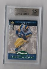 JEROME BETTIS 1994 COLLECTOR'S CHOICE CRASH THE GAME #C18G BGS 9.5 GEM MINT