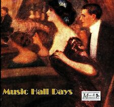 NEW & SEALED CD ALBUM MUSIC HALL - MUSIC, COMEDY + SONG FROM THE GOOD OLD DAYS