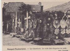 1926  --  PAIMPOL PLOUBAZLANEC  LE CIMETIERE  LE COIN DES DISPARUS EN MER  3C265