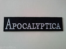 PUNK ROCK HEAVY METAL MUSIC SEW ON / IRON ON PATCH:- APOCALYPTICA (a) STRIPE
