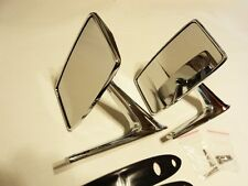 VINTAGE CHROME DOOR MIRRORS FORD LINCOLN MERCURY MUSTANG TORINO FALCON COUGAR