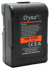 155Wh V-Mount Battery; Dynacore V-Lock Mini Battery DM-155S; Battery for Scarlet
