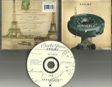ENIGMA Beyond the Invisible w/ RARE RADIO EDIT 2TRX LIMITED USA CD single 1996