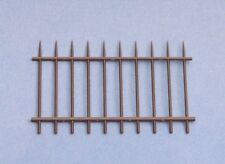 1/35 Scale Railing - Steel Fence 2 pcs Injection moulded plastic diorama