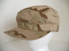 Dessert Class 2 Camouflage Beige Tan Military Hat Cap. Size 7 1/4