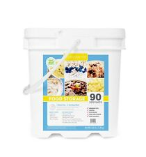 Lindon Farms ~ 7 Day Food Storage for 1 Person ~ 90 Servings  Emergency Survival