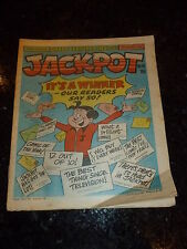 JACKPOT Comic - No 16 - Date 19/08/1979 - UK PAPER COMIC