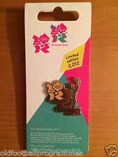 LONDON 2012 OLYMPICS TORCH RELAY (GLASGOW) PIN BADGE (08.06.2012)