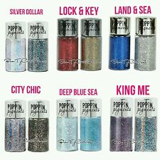 LOT 6 Hard Candy Poppin Pigments Eye Shadow Duo glitter Shimmer NEW & SEALED