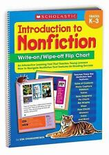 Introduction to Nonfiction Write-On - Wipe-Off Flip Chart : An Interactive...