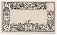 1908 pictural enveloppe Penny frais de port uk à usa par la société philatélique junior.