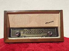 1X RADIO TELEFUNKEN SUPER OPUS 8 HIFI ORIGINAL GERMANY 1957 2x EL84 6X SPEAKER