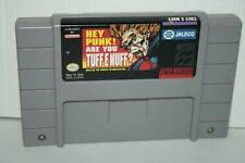 HEY PUNK! ARE YOU TUFF E NUFF? USATO NINTENDO SNES USA SOLO CARTUCCIA FR1 42999