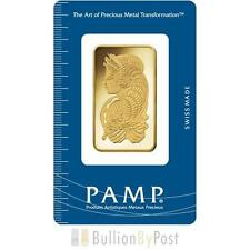 PAMP 1oz Gold Bar CONIATA