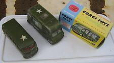Corgi 356 359 vehículos del ejército Cocina y VW Originals playworn en Caja Buen REPRO