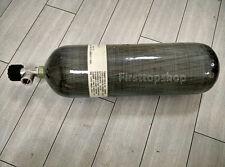 6.8L Scuba Diving Air Tank, Carbon Fiber Aluminum High Pressure Air Cylinder