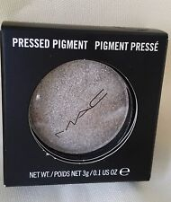 MAC COSMETICS PRESSED POWDER PIGMENT Metalic EYESHADOW GRAY ENLIGHTENING NIB