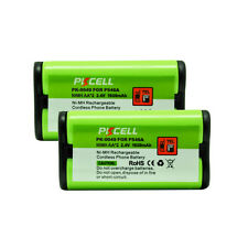 2X Cordless Home Phone Replacement Battery for Panasonic HHR-P546A NEW PKCELL