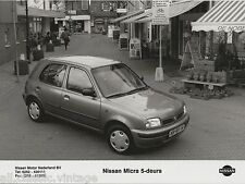 PRESS - FOTO/PHOTO/PICTURE - Nissan Micra 5-deurs