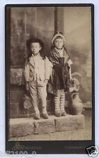 photo cdv Léopold à Clermont . enfants . costumes . mode . région