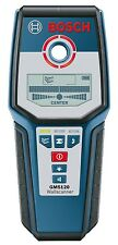 NEW! Bosch GMS120 Digital Multi Wall Scanner Stud Metal Live Wiring Detector