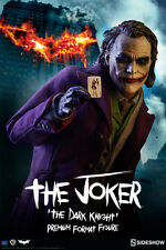 SIDESHOW DC Comics THE JOKER PREMIUM FORMAT Figure 1/4th The Dark Knight Statue
