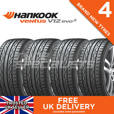 4x NEW 225 45 17 HANKOOK VENTUS V12 EVO 2 K120 94Y XL TYRES 225/45R17 A WET GRIP