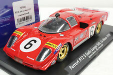 FLY 707101 FERRARI 512S CODA LUNGA LE MANS 1970 NEW 1/32 SLOT CAR