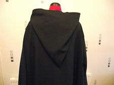 long Cloak with sleeves and hood. jedi. wizard. witch cosplay more colours
