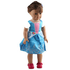 2017 A+ fashion clothes dress for 18inch American girl doll party b417