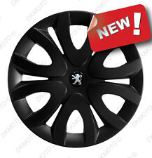"4x15"" Wheel trims covers fit Peugeot 306 308  15"" full set black"